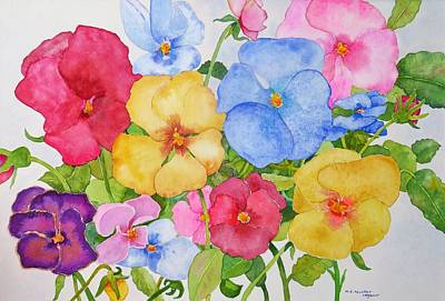 Painting - Dreaming Of Spring by Mary Ellen Mueller Legault