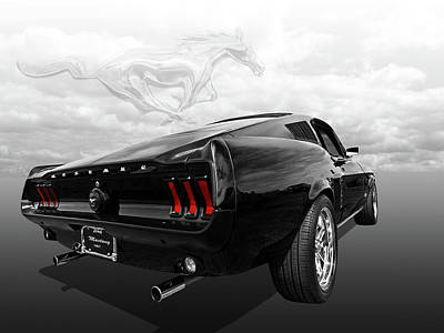 Ford Mustang Photograph - Dreaming Of The '60s - '67 Mustang Fastback by Gill Billington