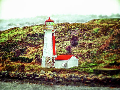 Photograph - Dreaming Of The Georges Island Light In Halifax by Bill Swartwout