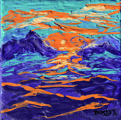 Painting - Dreaming Of The High Desert by Donna Blackhall