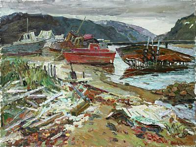 Painting - Dreaming Of The Sea by Juliya Zhukova