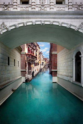Printed Photograph - Dreaming Of Venice by Az Jackson