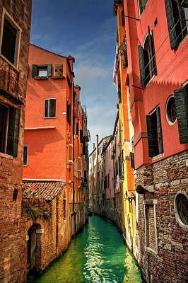 Dreaming Of Venice  Art Print