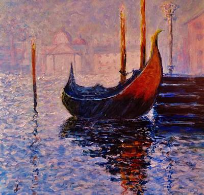 Dreaming Of Venice.. Art Print by Cristina Mihailescu