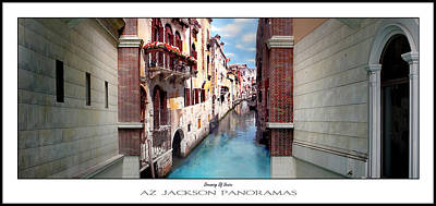 Dreaming Of Venice Poster Print Art Print by Az Jackson