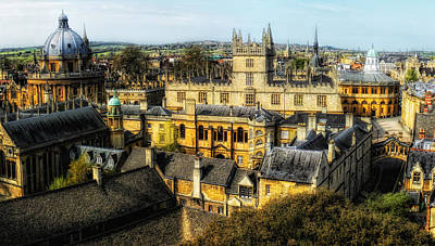 Photograph - Dreaming Spires by Nigel Fletcher-Jones