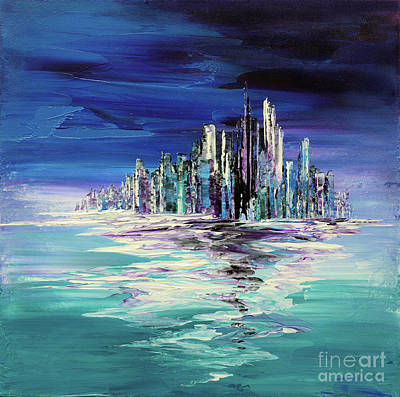 Painting - Dreamland Isle by Tatiana Iliina