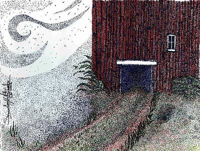 Dreamland Opens Here... Art Print by Saundra Lee York