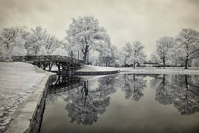 Photograph - Dreamlike Elm Park In Worcester by Luke Moore
