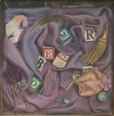 Painting - Dreamr by Suzn Art Memorial