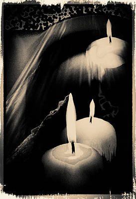 Dreams And Candlelight Art Print