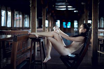 Vintage Erotic Photograph - Dreams by Andrey A