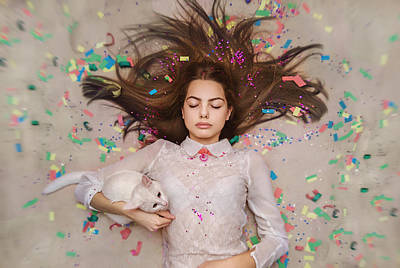 Photograph - Dreams Coming True. Unexpected Happiness by Inna Mosina