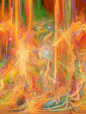 Dreams In Color Art Print by Linda Sannuti