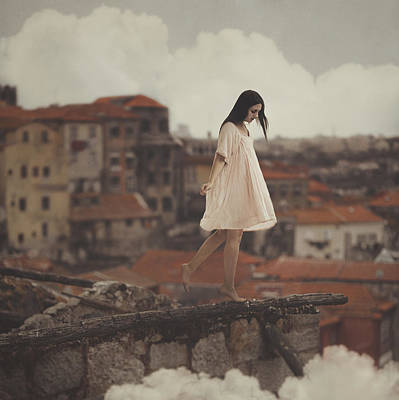 Girl Wall Art - Photograph - Dreams In Old Porto by Anka Zhuravleva