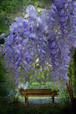 Photograph - Dreams In The Garden by Debra and Dave Vanderlaan