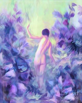 Mixed Media - Dreams In The Morning by Olga Hamilton