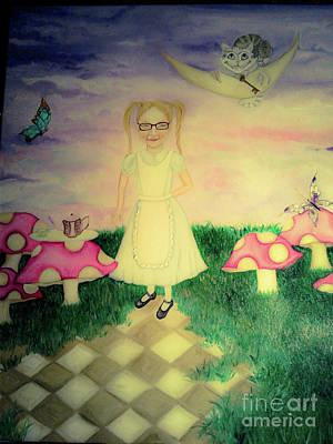 Dreams In Wonderland Original by Wendy Wunstell