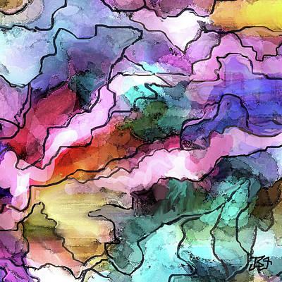 Digital Art - Dreams by Jean Batzell Fitzgerald