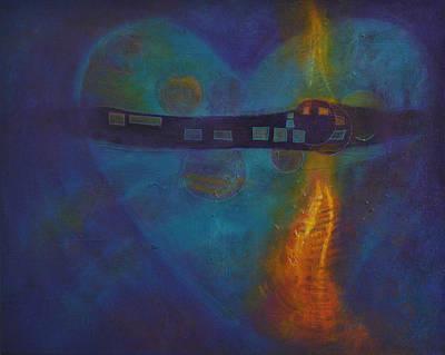 Painting - Dreams Never Die 1 by Kate Word