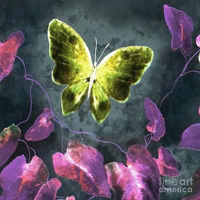Dreams Of Butterflies Art Print