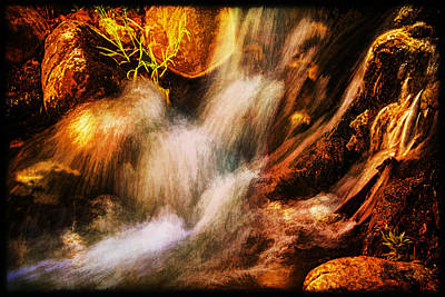 Photograph - Dreams Of Earthquakes Along Andreas Creek by Roger Passman
