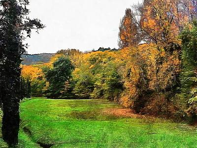 Photograph - Dreams Of Fall In Tuscany by Dorothy Berry-Lound