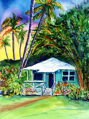 Kauai Artist Painting - Dreams Of Kauai 2 by Marionette Taboniar