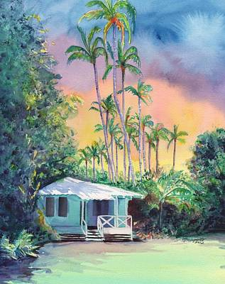 Island Painting - Dreams Of Kauai by Marionette Taboniar