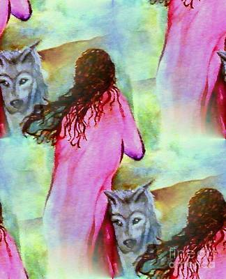 Painting - Dreams Of My Protector by Vicki Lynn Sodora
