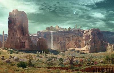 Horus Digital Art - Dreams Of Orion by Bill Jonas