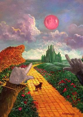 Painting - Dreams Of Oz by Randy Burns