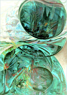 Mixed Media - Dreams Of Water by Dale Witherow