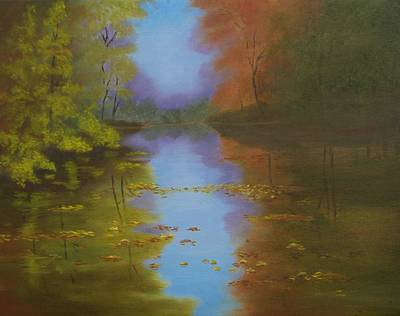 Painting - Dream's Reflections by Lorraine Foster