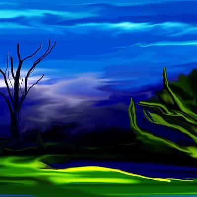 Mindscape Digital Art - Dreamscape 062310 by David Lane