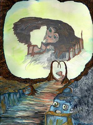 Dreamscape Art Print by Angela Pelfrey