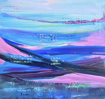 Painting - Dreamscape by Irene Hurdle