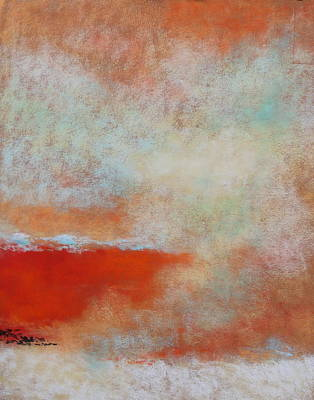 Pastel - Dreamscape by M Diane Bonaparte