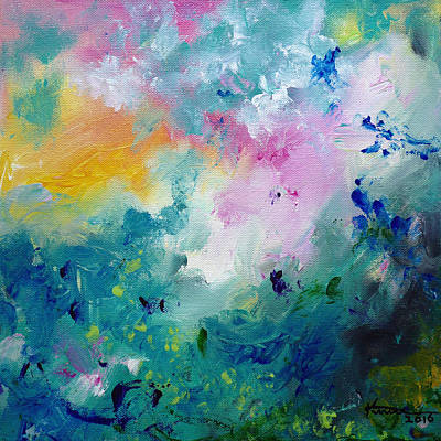 Painting - Dreamscape No3 by Kume Bryant