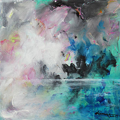 Painting - Dreamscape No4 by Kume Bryant