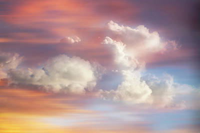 Photograph - Dreamscape Of Clouds by Debra and Dave Vanderlaan