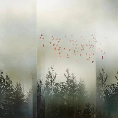 Landscapes Digital Art - DreamState by Katherine Smit