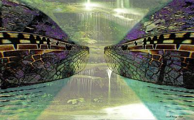 Gondwana Painting - Dreamtime Gondwanaland by Sarah King