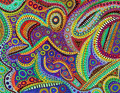 Painting - Dreamtime by Polly Castor