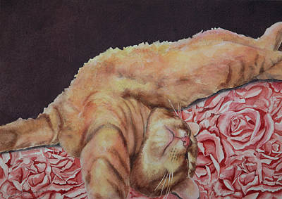 Allegory Of A Kitten's Life / Dreamweaver #6  Smell The Roses Original