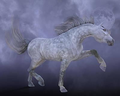 Animals Digital Art - Dreamweaver by Betsy Knapp