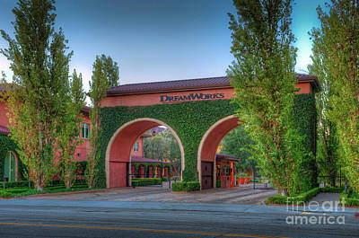 Photograph - Dreamworks Studios by David Zanzinger