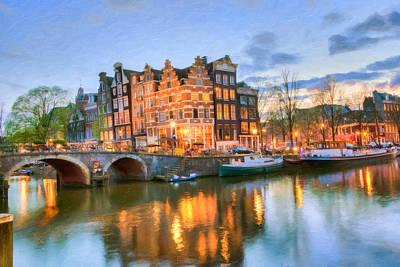 Photograph - Dreamy Amsterdam   by Nadia Sanowar