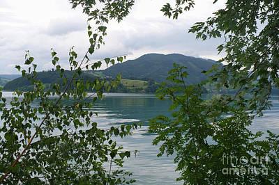 Photograph - Dreamy Austrian Lake by Carol Groenen