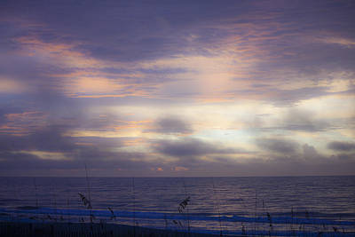 Inferno Photograph - Dreamy Blue Atlantic Sunrise by Teresa Mucha